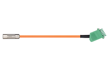 readycable® motor cable acc. to Danaher Motion standard 88964 (20 m), base cable, PVC 15 x d