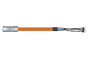 readycable® motor cable acc. to Parker standard iMOK42, base cable PUR 10 x d