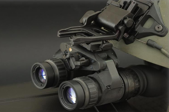Night vision device with individual bearings made of iglidur® bar stock