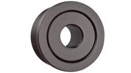 Radial deep groove ball bearings with flange