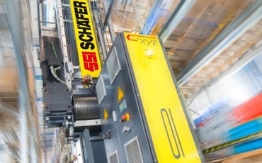 readycable in storage and retrieval units from SSI Schäfer